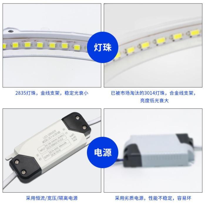 深圳面板灯厂家供应商场专用6寸12W圆形面板灯139068955