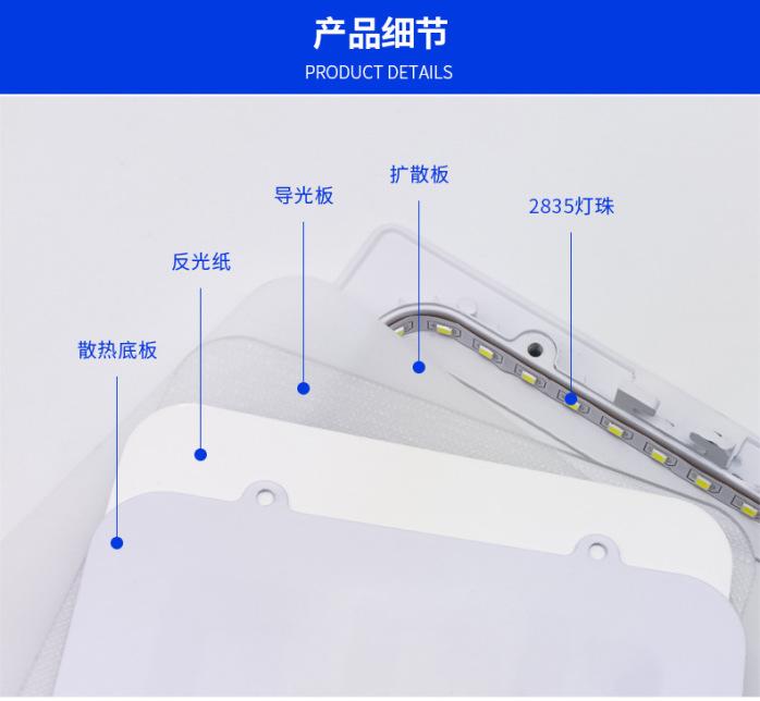 深圳面板灯厂家供应商场专用6寸12W圆形面板灯139069015