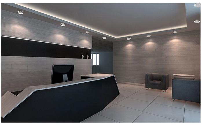 35W LED象鼻燈 大功率天花燈 酒店射燈140899845