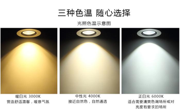 35W LED象鼻灯 大功率天花灯 酒店射灯140899725