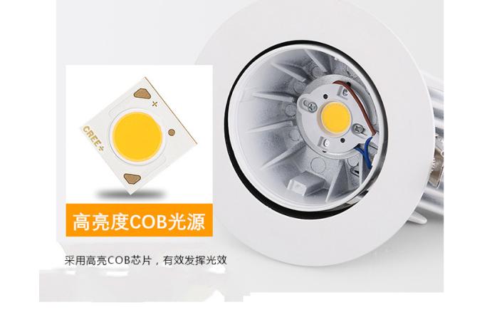 35W LED象鼻燈 大功率天花燈 酒店射燈140899735