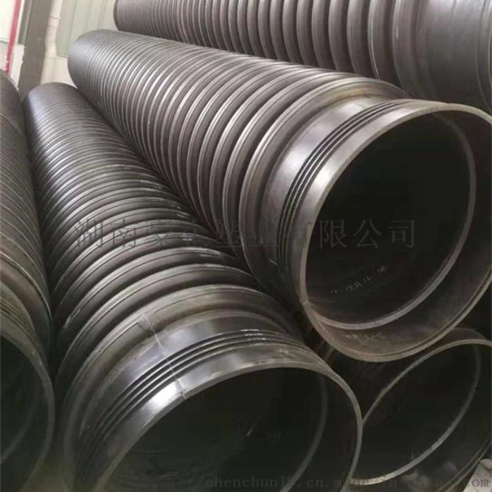 湖南长沙多肋管增强缠绕管dn500大量现货供应138595315
