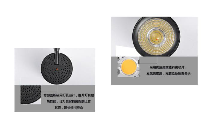 LED轨道灯 橱窗柜轨道灯 35W大功率天花灯141056025