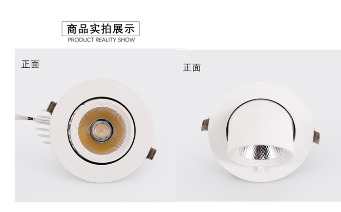 35W LED象鼻灯 大功率天花灯 酒店射灯140899775
