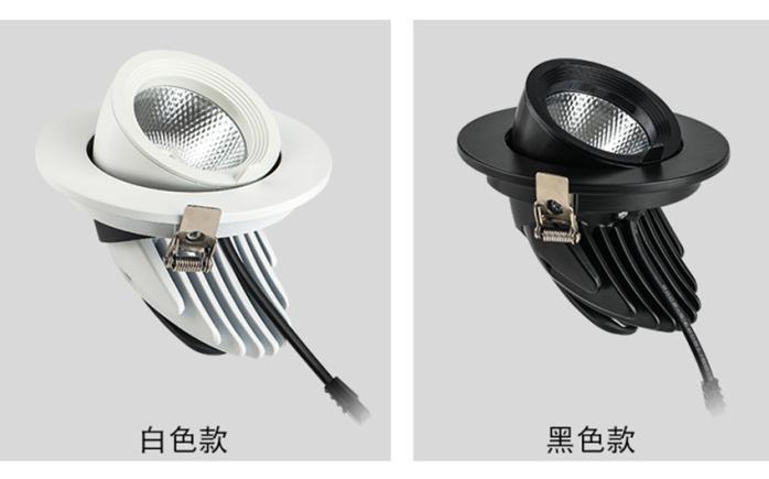 LED天花射灯 嵌入式拉伸象鼻灯 服装射灯140892805