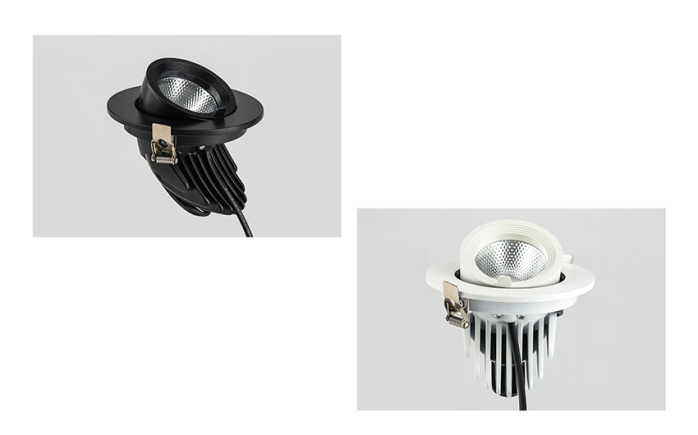 LED天花射灯 嵌入式拉伸象鼻灯 服装射灯140892555