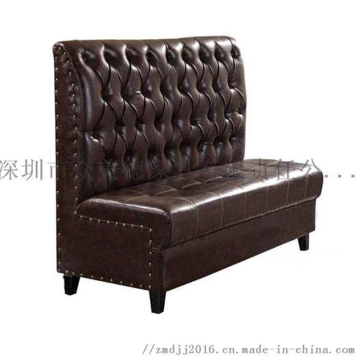 西餐沙发定做,餐饮店沙发,茶餐厅沙发卡座加工厂142150235