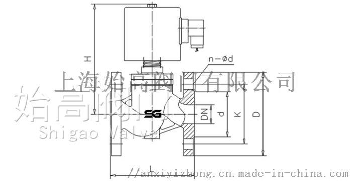 ZBSF蒸汽电磁阀尺寸