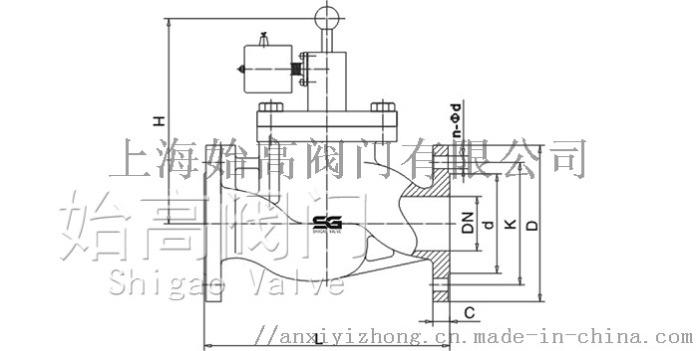 ZCRB燃气紧急切断阀尺寸