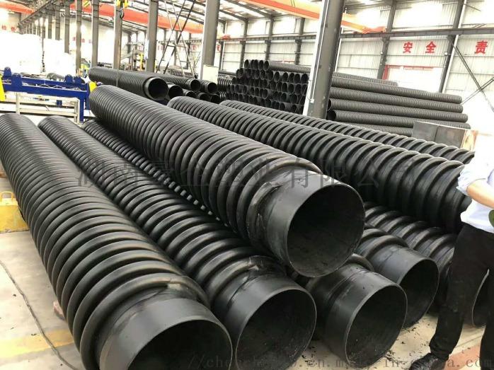 湖南蓝山B型克拉管克拉管增强缠绕管B型管现货138526415