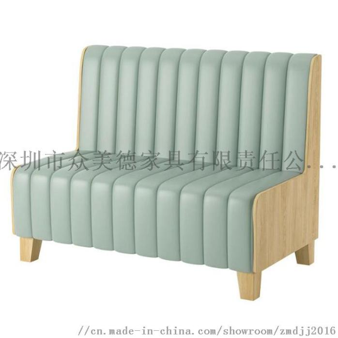 时尚轻奢皮革座椅,餐厅卡座沙发定制,沙发尺寸加工910581745