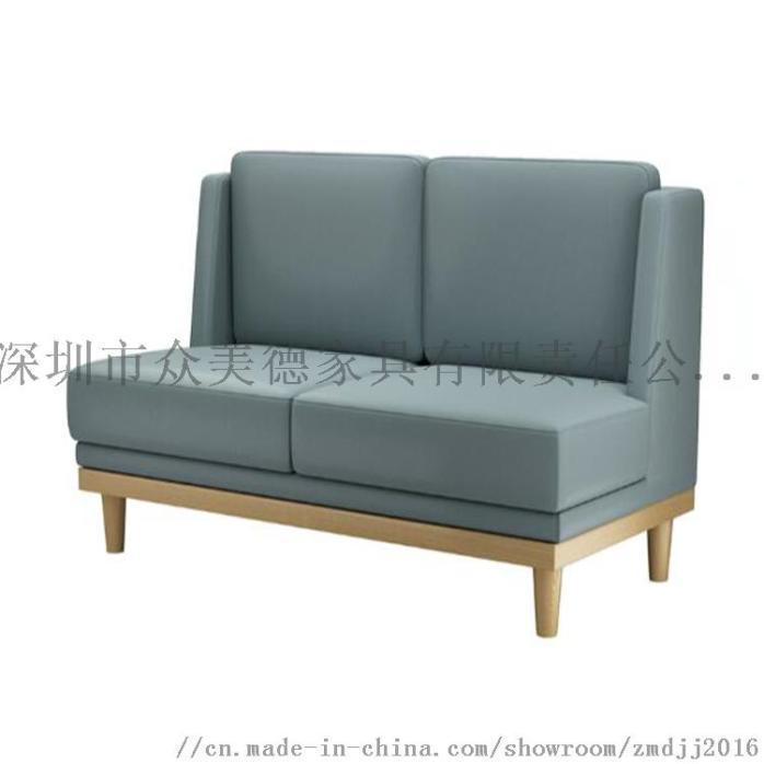 时尚轻奢皮革座椅,餐厅卡座沙发定制,沙发尺寸加工910581785