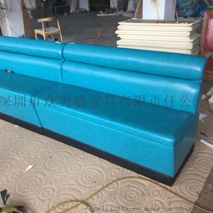 防火板卡座沙發,餐廳沙發訂製,飯店卡座沙發訂造140984075