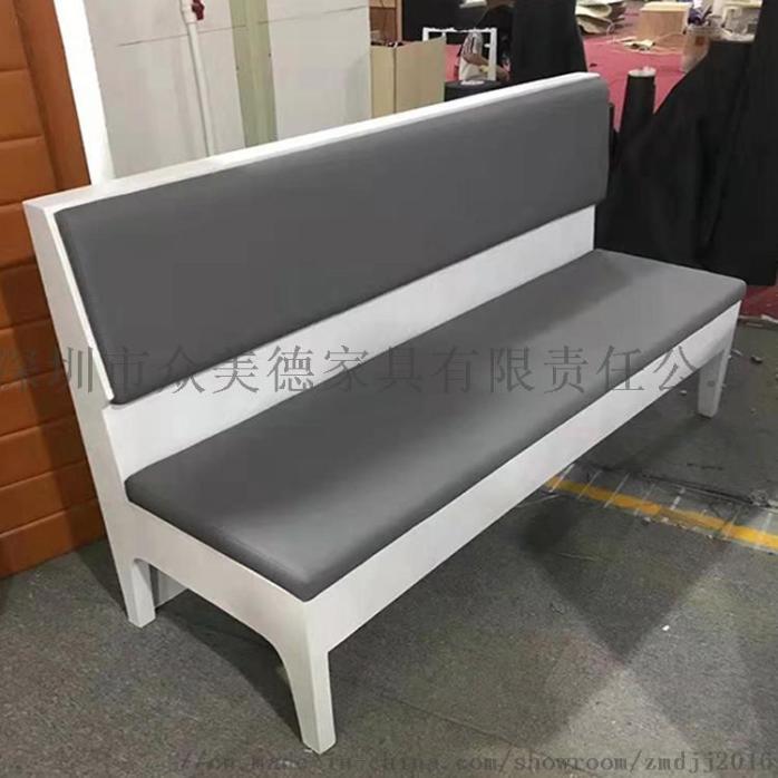 时尚轻奢皮革座椅,餐厅卡座沙发定制,沙发尺寸加工910581765