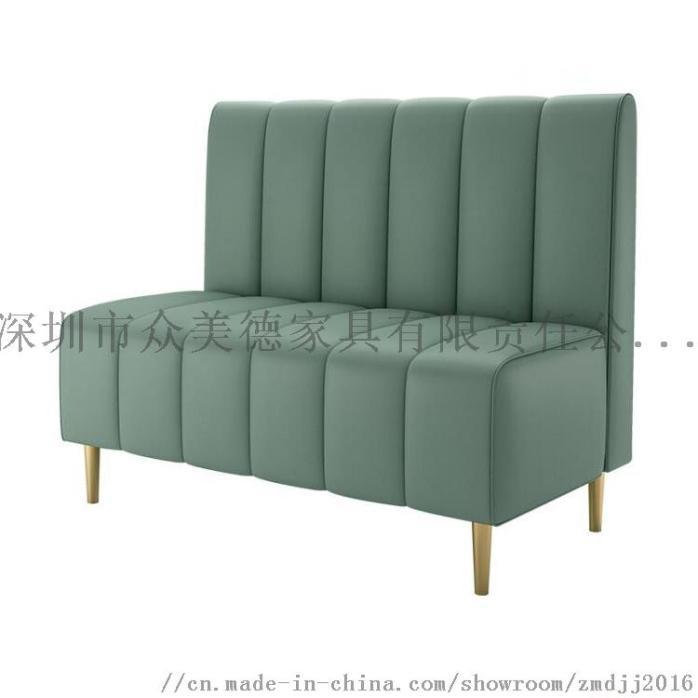 时尚轻奢皮革座椅,餐厅卡座沙发定制,沙发尺寸加工910581755
