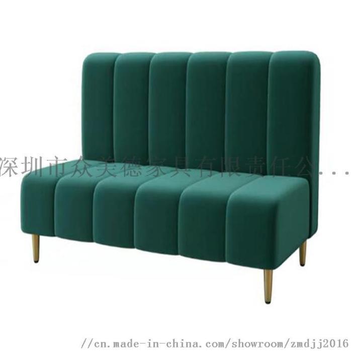 时尚轻奢皮革座椅,餐厅卡座沙发定制,沙发尺寸加工910581775