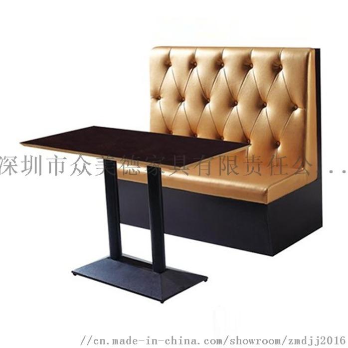 卡座带储物沙发, 茶餐厅沙发尺寸, 餐厅沙发定制132895095