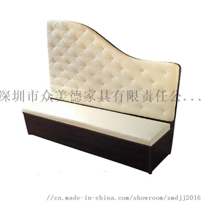 卡座带储物沙发, 茶餐厅沙发尺寸, 餐厅沙发定制132895085