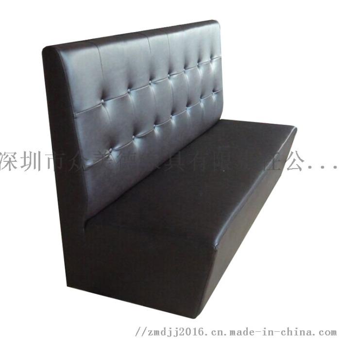 防火皮革沙發訂製,餐廳沙發加工,茶餐飯館沙發廠家924687875