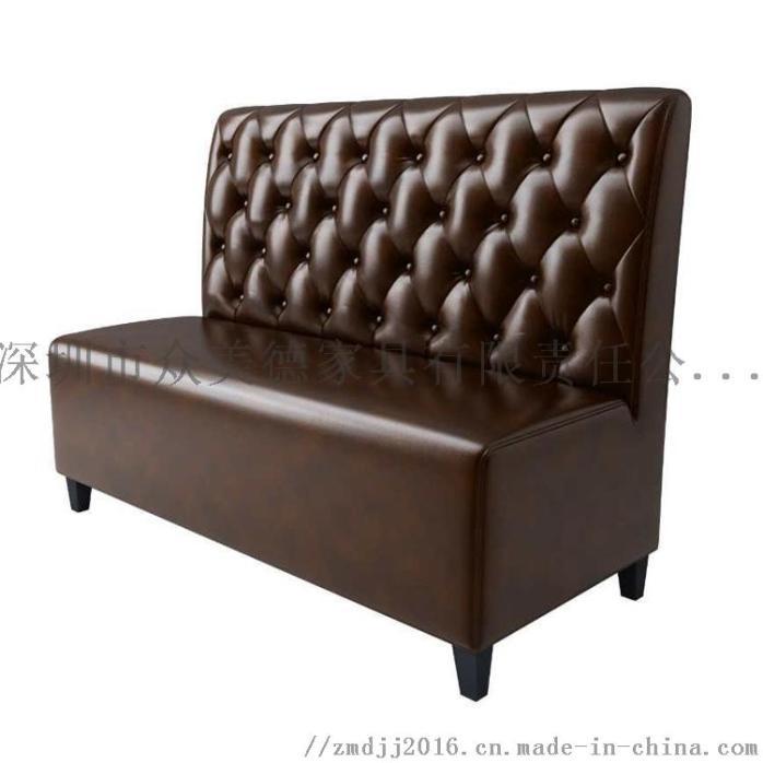 茶餐厅沙发定制,西餐厅卡座沙发,火锅店沙发家具923762055