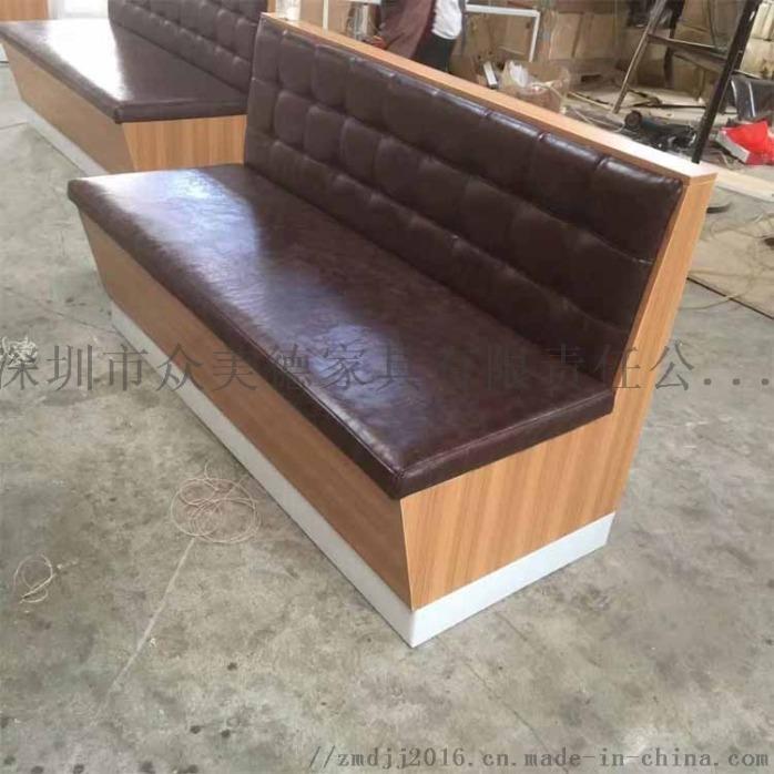 西餐沙发定做,餐饮店沙发,茶餐厅沙发卡座加工厂142150255
