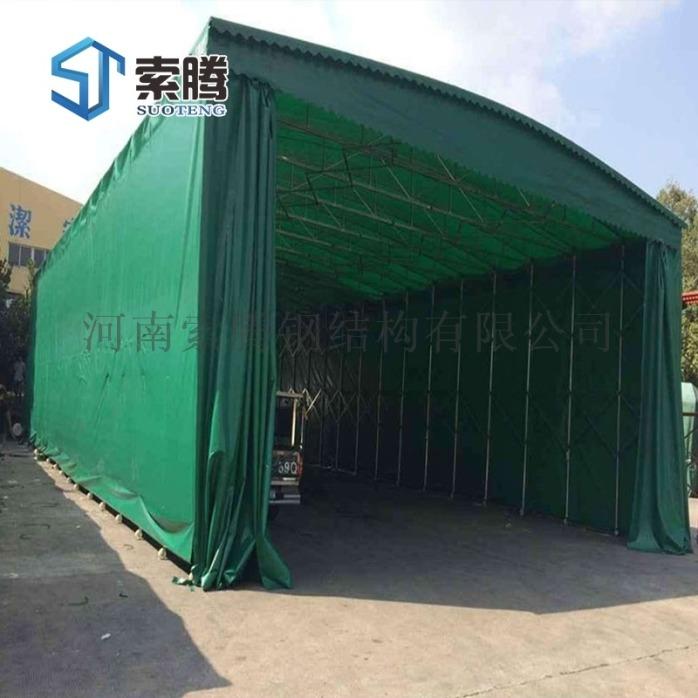 三门峡灵宝市物流移动推拉帐篷雨篷伸缩雨蓬制造工艺优929447885