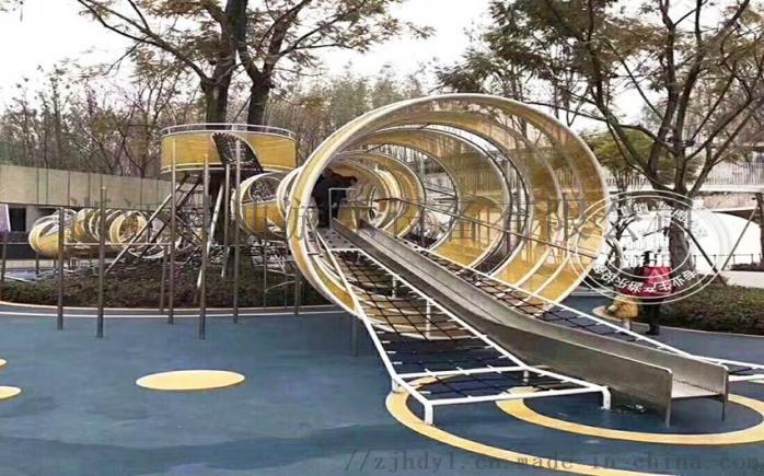 户外小区广场非标游乐设备 户外组合滑梯 幼儿园设施147896505