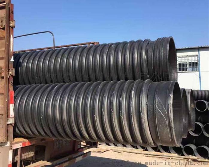湖南长沙多肋管增强缠绕管dn500大量现货供应138595295