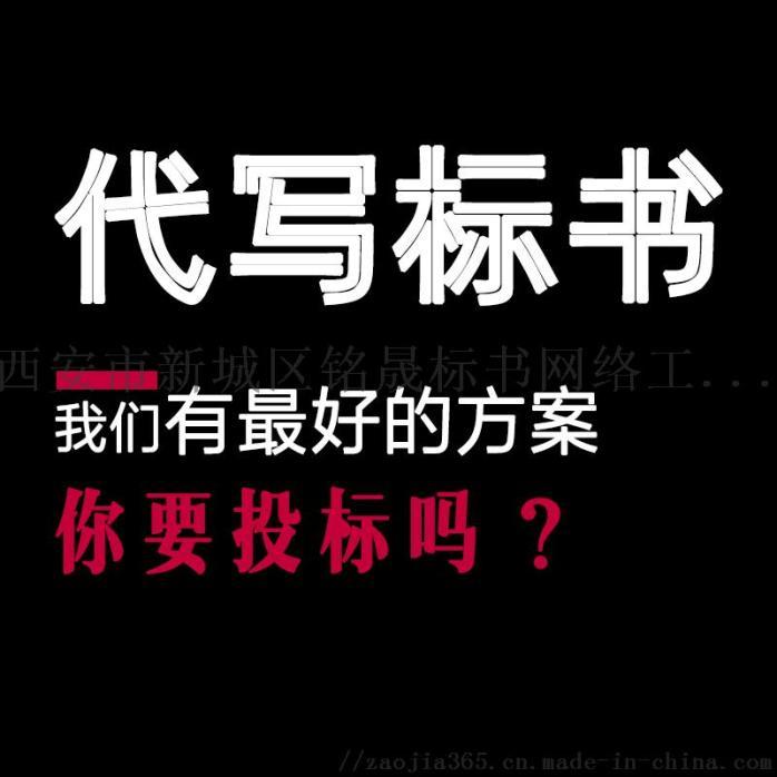 西安标书制作公司_代写竞标标书/投标书编制服务938241975