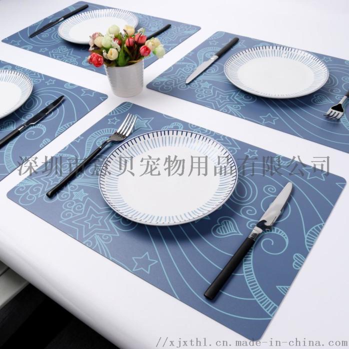 欧式可水洗易清洁餐桌垫子防水防油免洗小清新清洁垫主图1.jpg