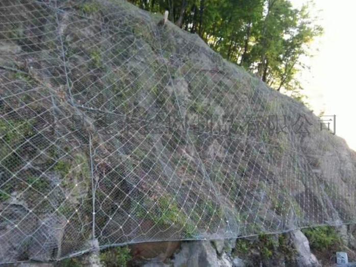 柔性钢丝绳防护网 主动防护网生产厂家152605515