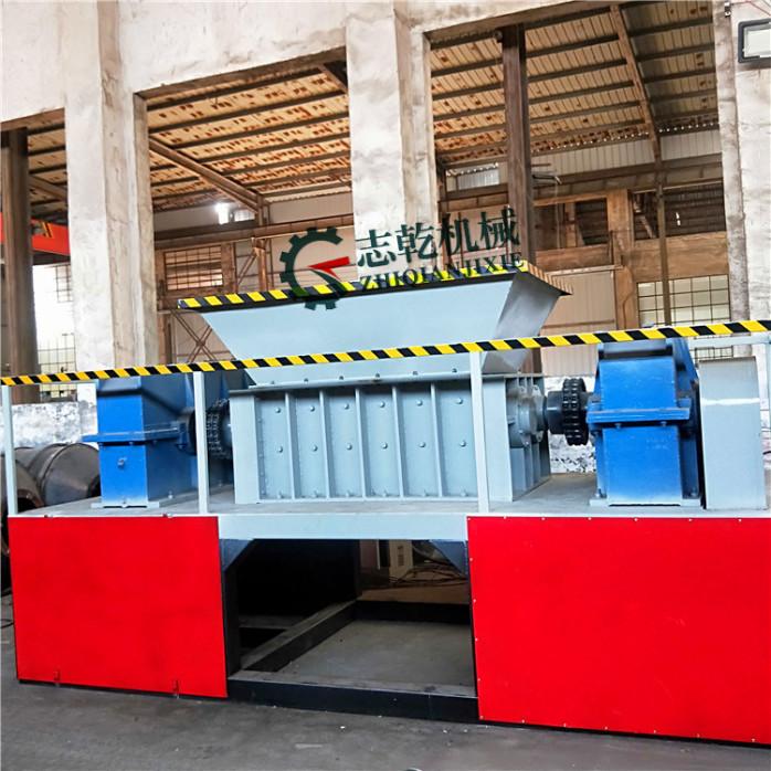 双轴撕碎机 金属剪切设备 塑料粉碎机 垃圾粉碎机146739625