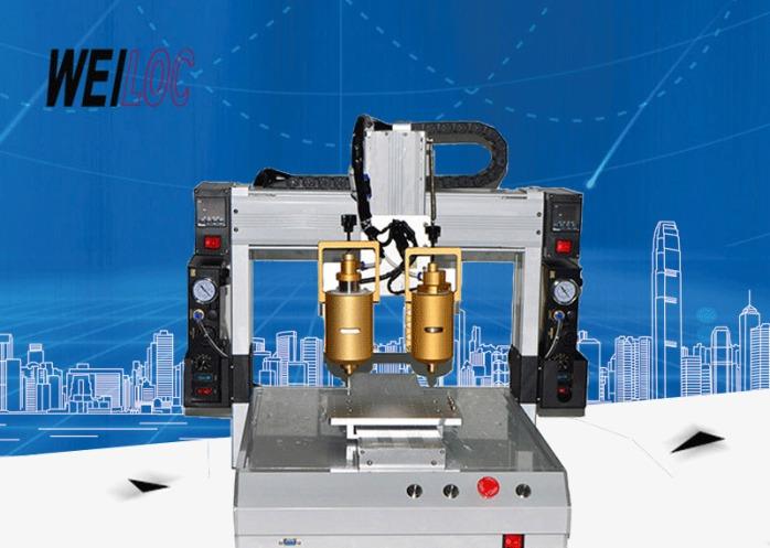 黄胶桌面式自动点胶机 三轴UV胶滴胶机 双头热熔胶涂胶机厂家直销