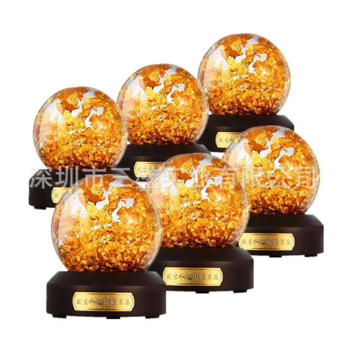 金箔铜箔水球