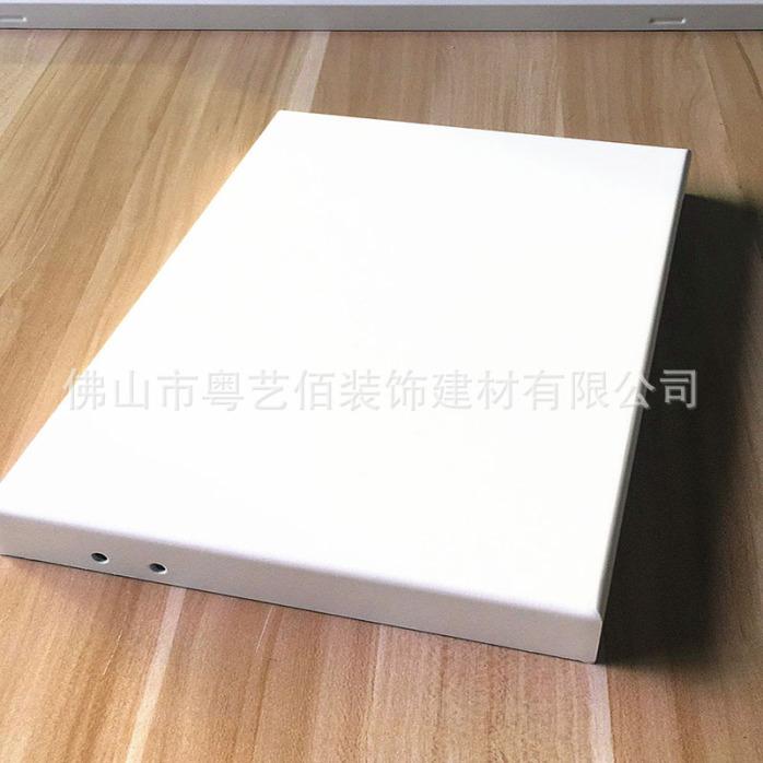 铝单板-白色 碳漆铝单板 (2)