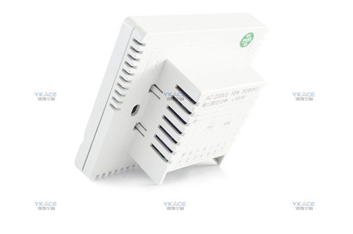 郢凱二線溫控器 風機盤管液晶溫控器開關37866572