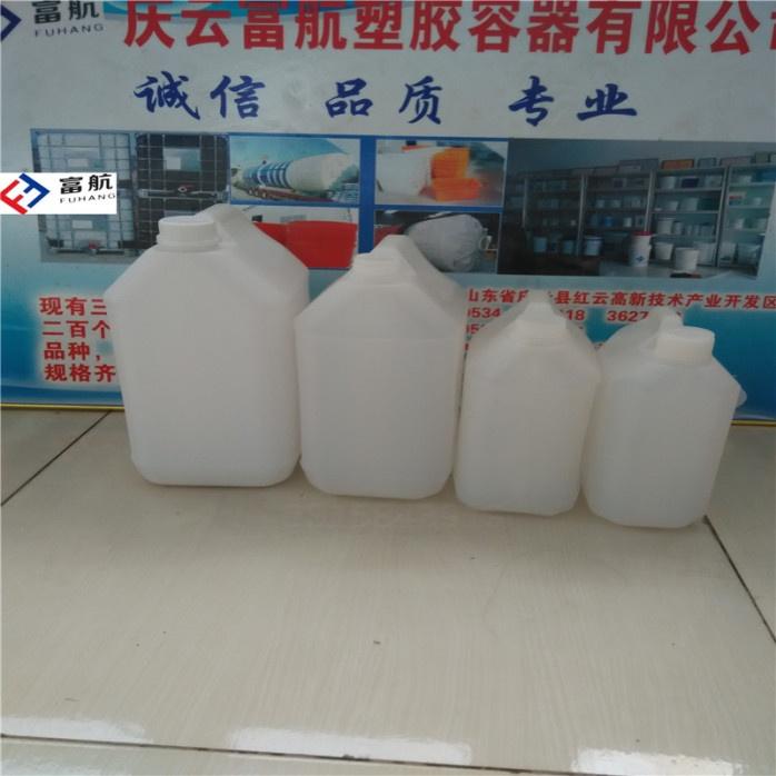 藍色10升堆碼塑料桶 10kg方形化工桶42600412