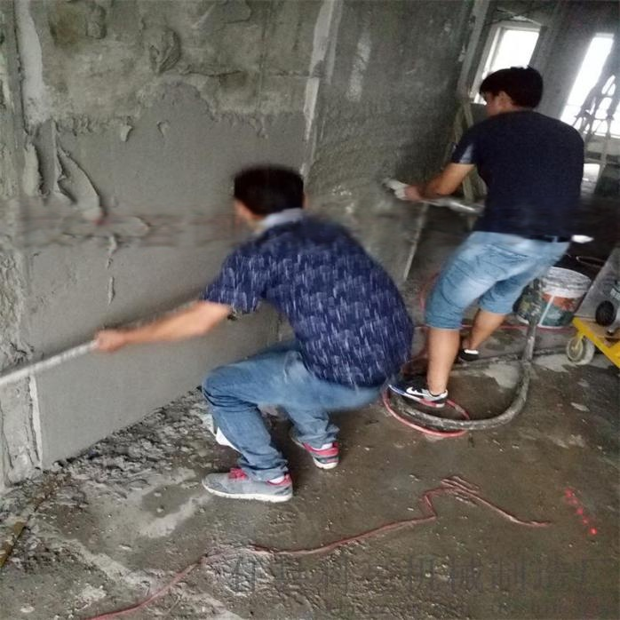 河北全自動水泥砂漿噴塗機建築粉牆類機械43107722