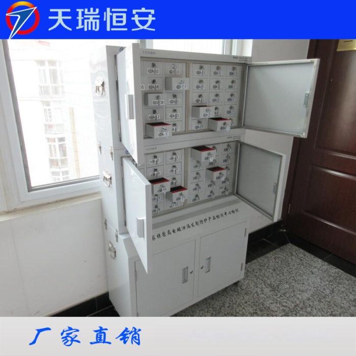 手机屏蔽柜案例主图2北京市公安局怀柔区分局30格两套+底柜.jpg
