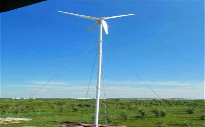 厂家直销5kw家用低风速小型风力发电机风光互补路灯,分布式太阳能发电26527792