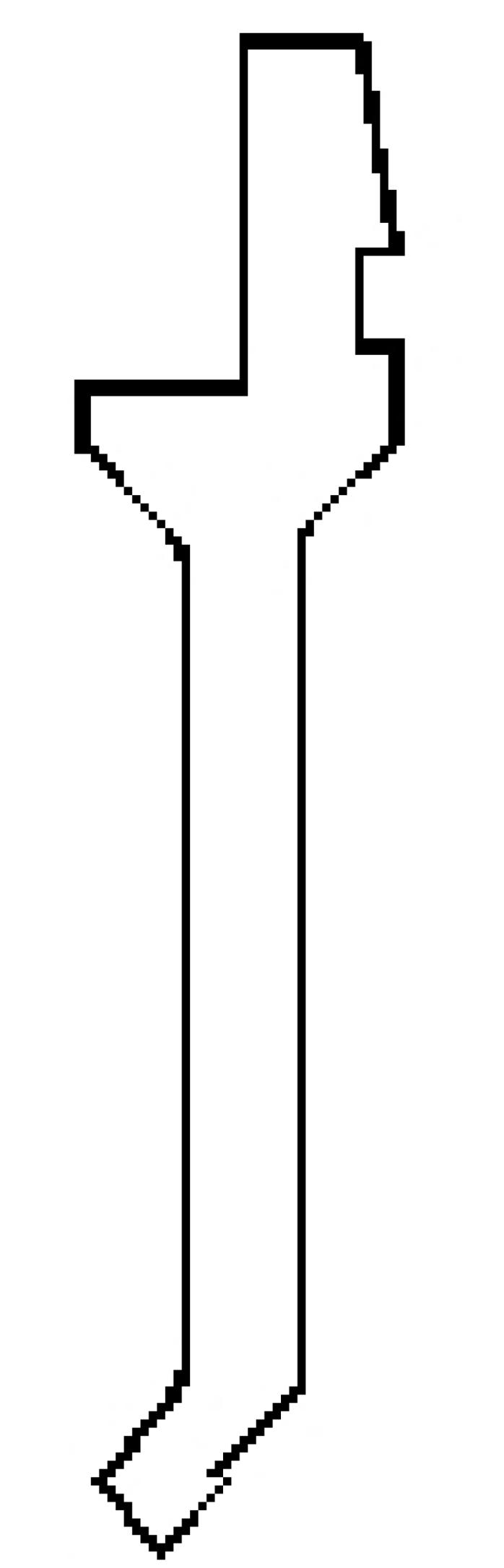 弯头型直刀202(20280)