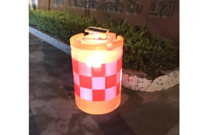 LED太陽能發光桶