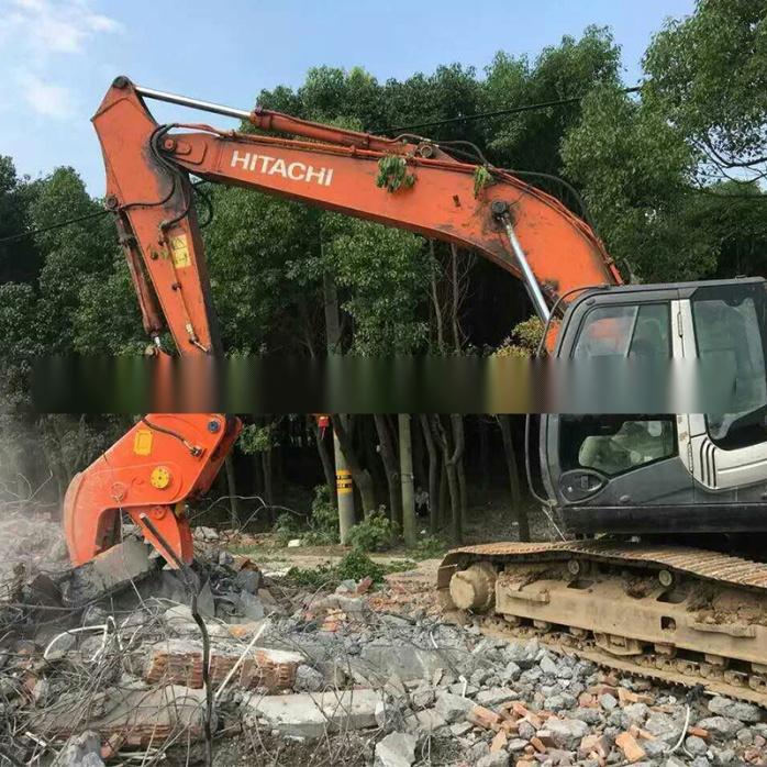 大型拆除液压钳、挖掘机液压粉碎钳、粉碎混凝土方法772195295