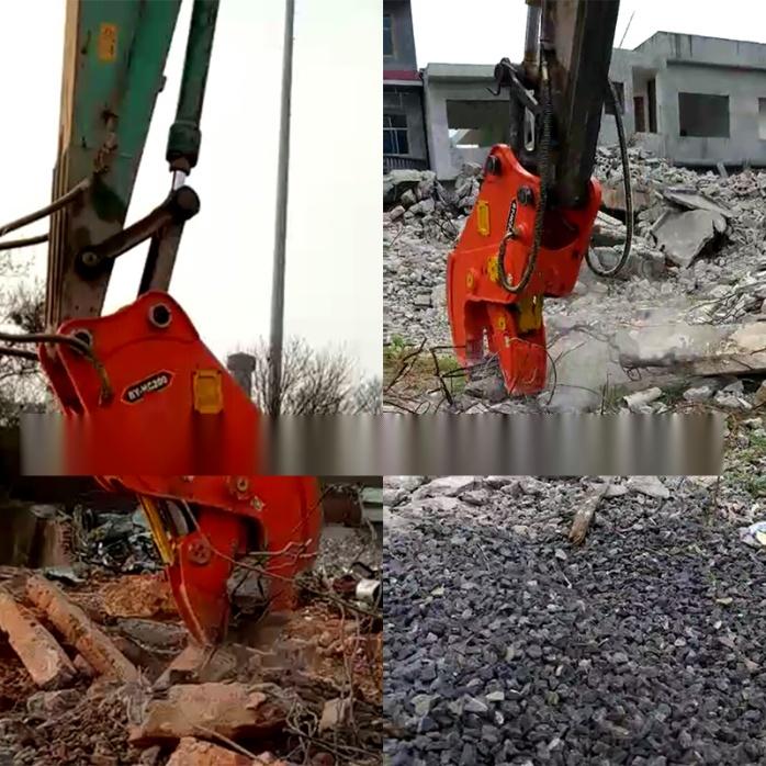 大型拆除液压钳、挖掘机液压粉碎钳、粉碎混凝土方法62054935