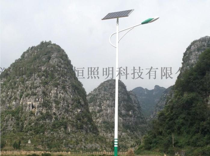 好恆照明專業生產6米30WLED太陽能路燈 太陽能投光燈鄉村道路工程63511355