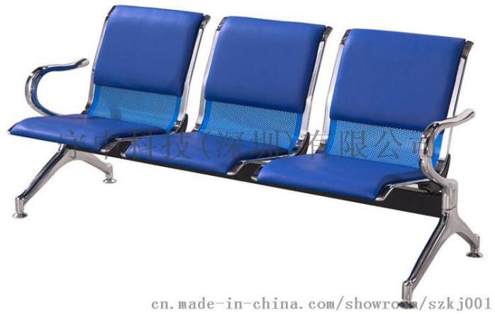 深圳三人座排椅*3人候诊椅*三连坐不锈钢等候椅774036135