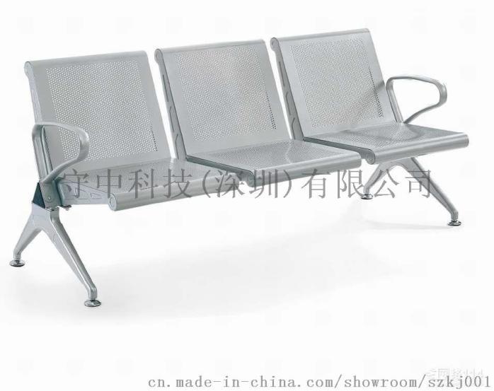 深圳三人座排椅*3人候诊椅*三连坐不锈钢等候椅774036115