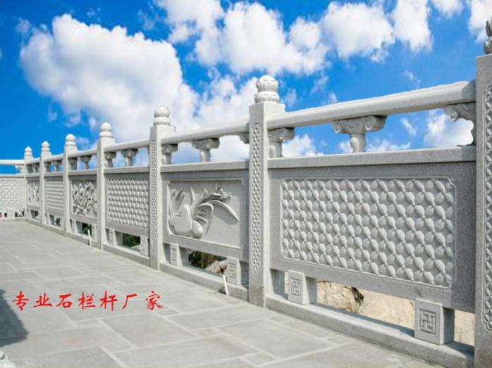 汉白玉石雕栏板多少钱   石材护栏厂家65688302