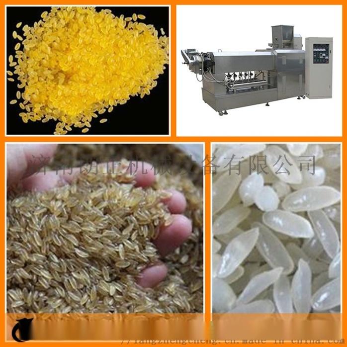 速食方便米饭生产线机器 全自动小型黄金营养大米设备67742162