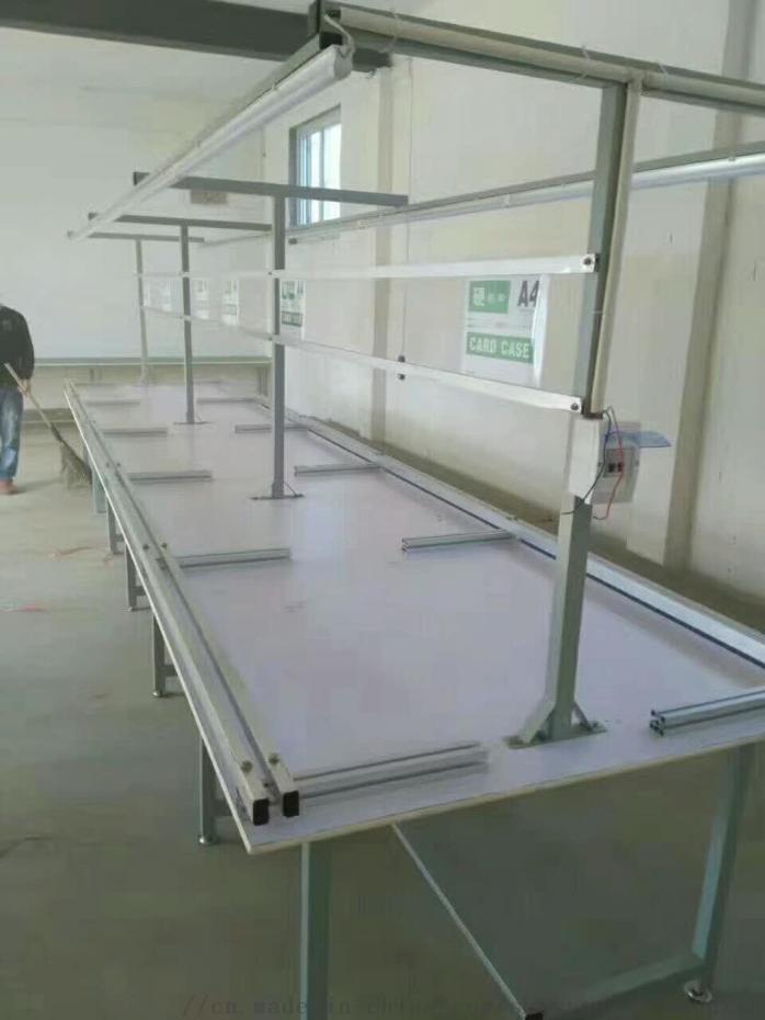 包裝工作臺 木板拉生產線 電子廠插件線778499792